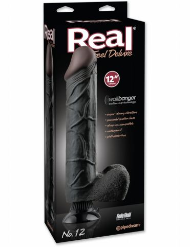 Вибратор REAL FEEL DELUXE N12 BLACK