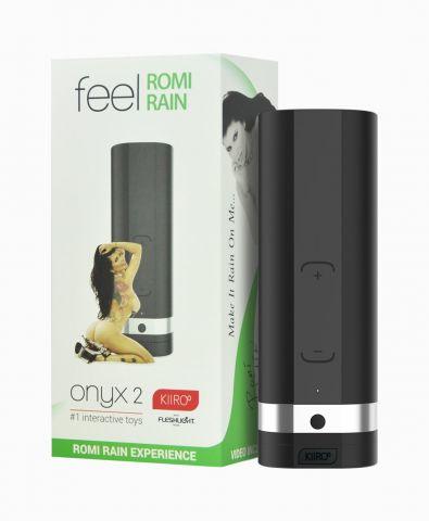 Автоматический затруха для секса возьми расстоянии Kiiroo Onyx 0 Romi Rain
