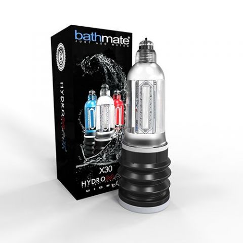 Гидропомпа Bathmate Hydromax7 Wide Boy прозрачная
